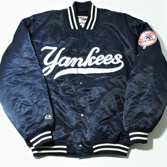 8df34d3b Majestic Jackets & Coats | Vintage New York Yankees Bomber Jacket ...